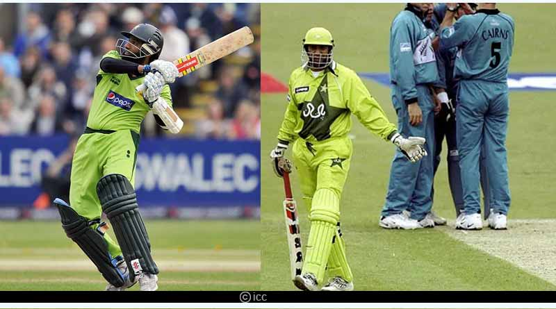 Wasim Akram and Mohammad Yousuf