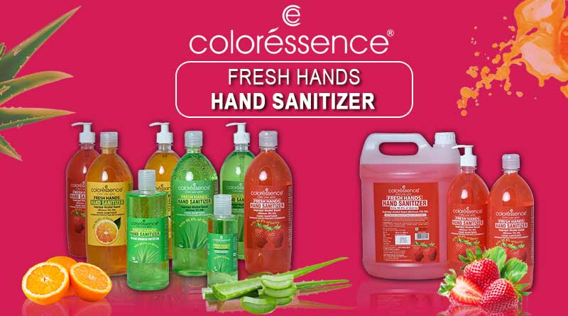 coloressence fresh hands sanitizer in india image