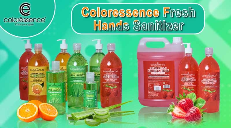 coloressence fresh hands sanitizer