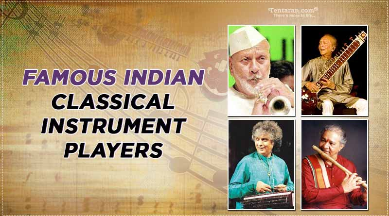 famous indian classical instrument players