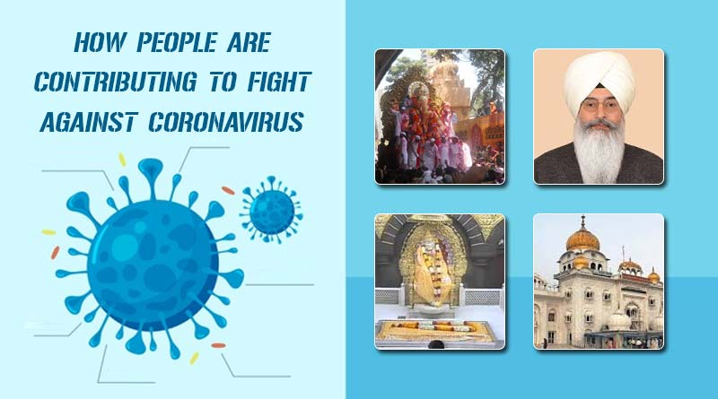 how people are contributing in fight against coronavirus