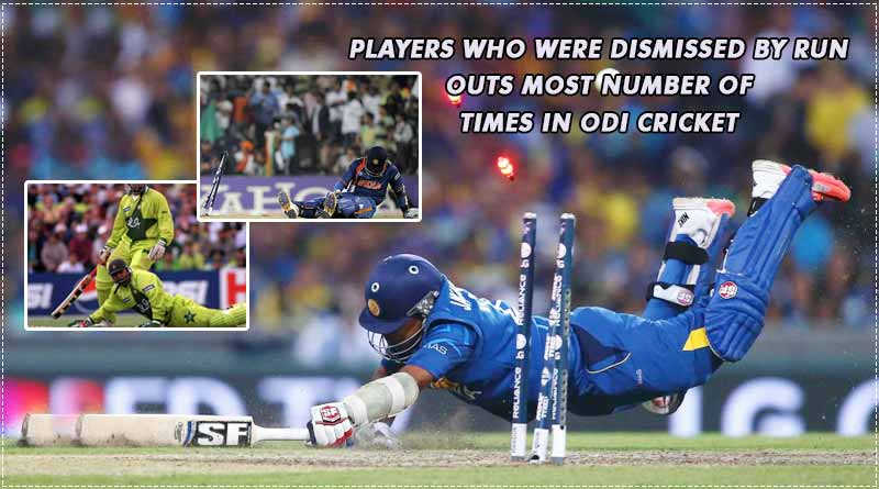 most run outs in odi by a player