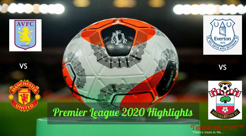 premier league 2020 highlights aston villa vs manchester united