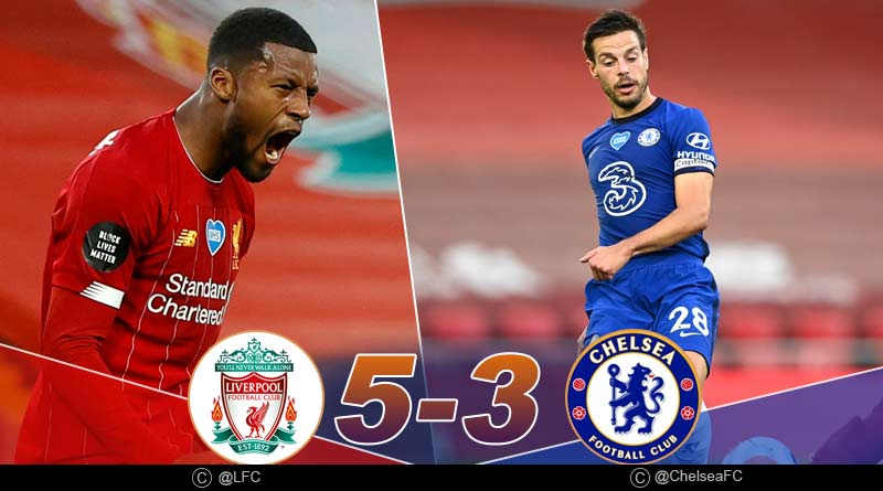 Liverpool Chelsea Highlights