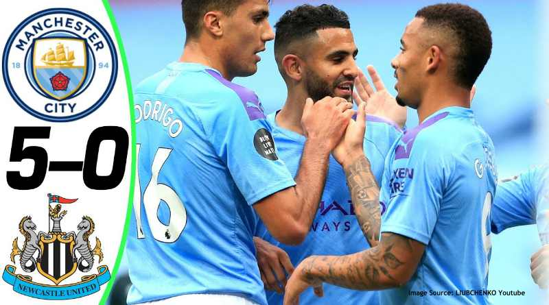 premier league highlights manchester city vs newcastle united