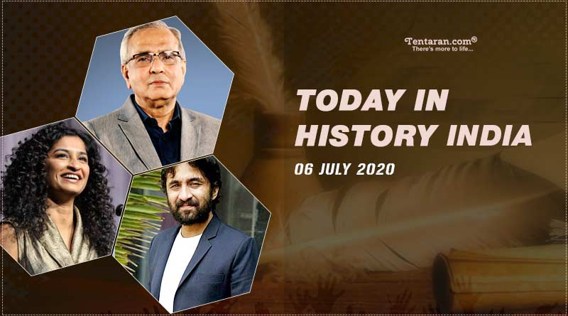 today in history india 6 july