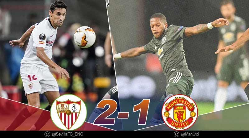europa league 2020 manchester united vs Sevilla highlights
