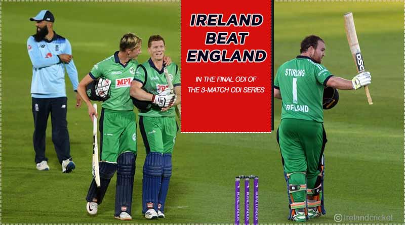 ireland vs england 2020 third odi highlights