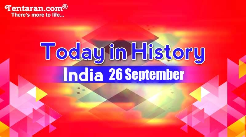 26 september in indian history image