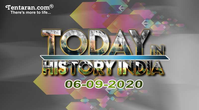 6 September In Indian History Sept 6 Special Day India Today Special Day