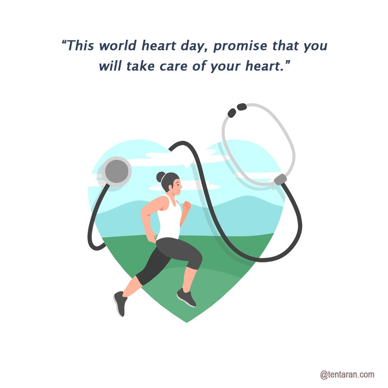 World heart day 2020 quotes images