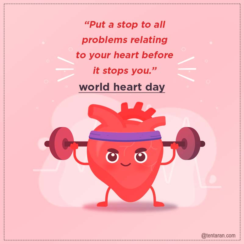 World heart day quotes images
