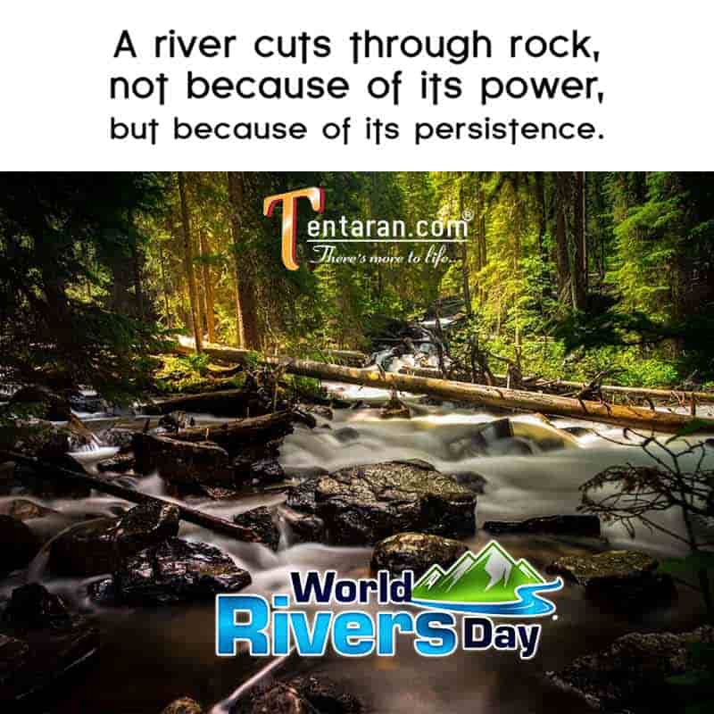 World rivers day images quotes