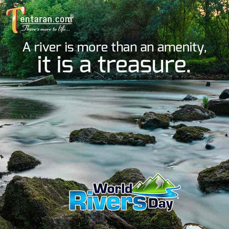 World rivers day quotes images 2