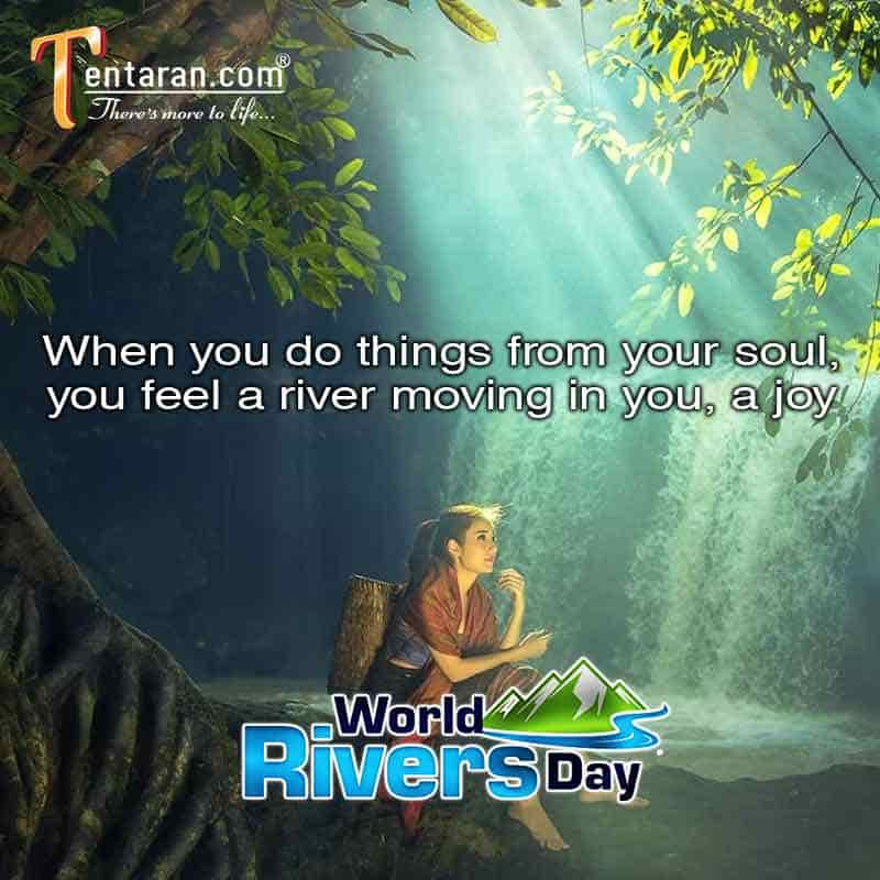 amazing World rivers day quotes with images