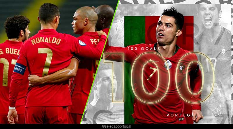 cristiano ronaldo international goals list