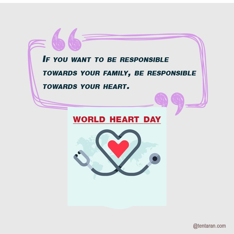 happy World heart day quotes