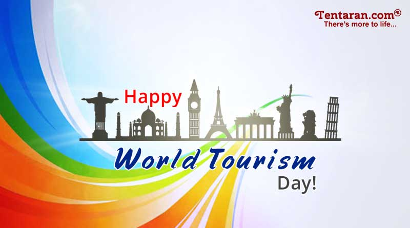 happy world tourism day quotes images poster