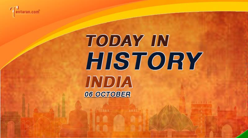 06 october in indian history