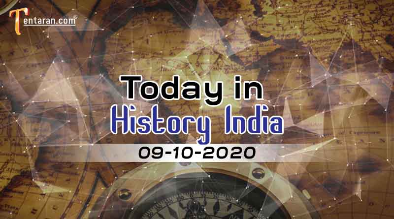 09 october in indian history