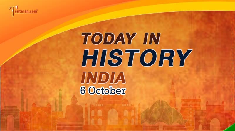 6 october in indian history image