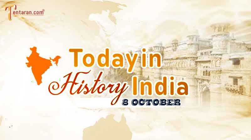 8 october in indian history