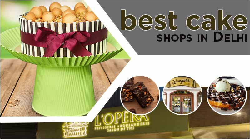 best cake shops in delhi