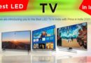 Best LED TV in India with Price in India 2020