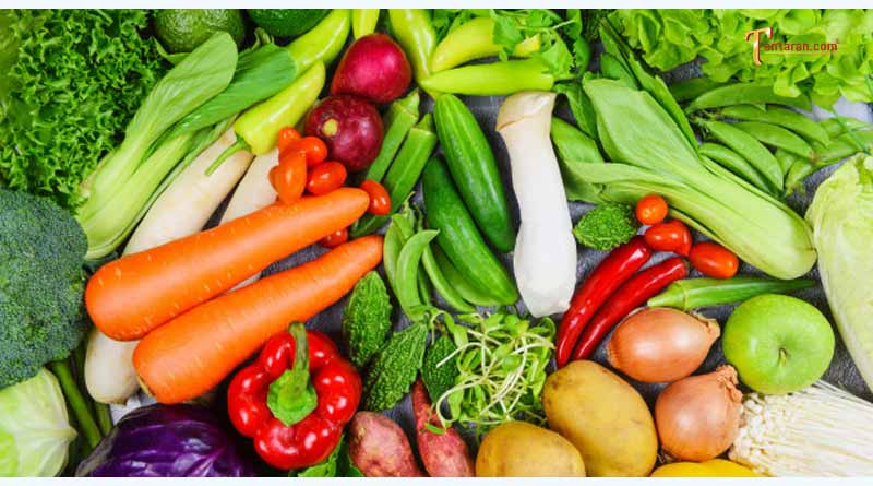 green vegetables and minerals