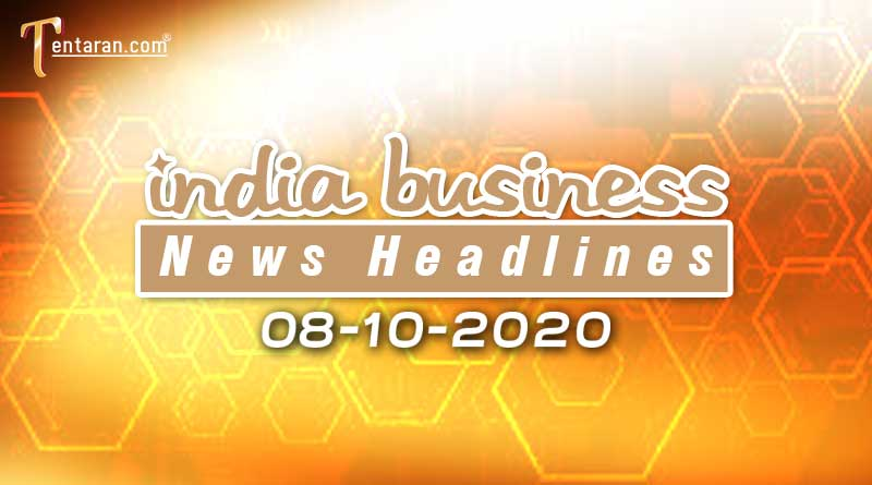 latest india business news 8th october 2020