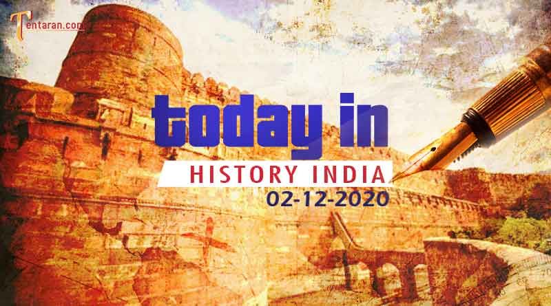 02 december in indian history