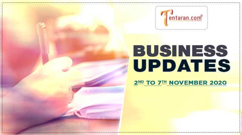 india business news weekly roundup 2nd to 7th november 2020