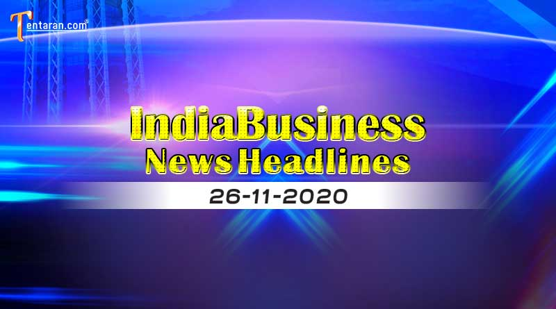 latest india business news today 26th november 2020
