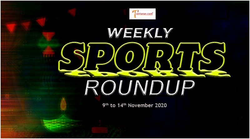 sports weekly roundup 9th to 14th november 2020