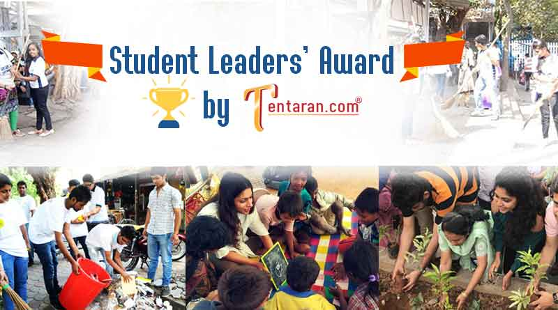 student leaders award by tentaran contest