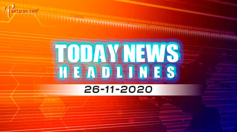 today news headlines 26th november 2020