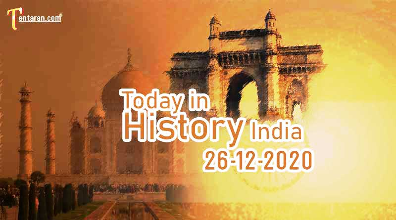 26 december in indian history