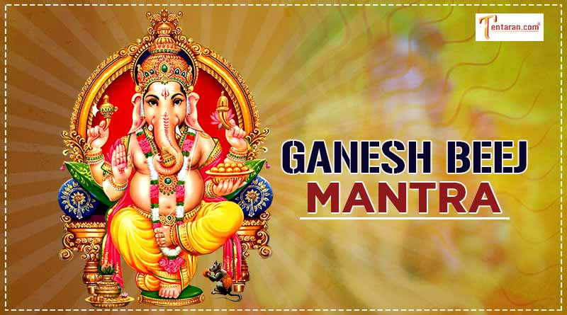 ganesh beej mantra and its significance