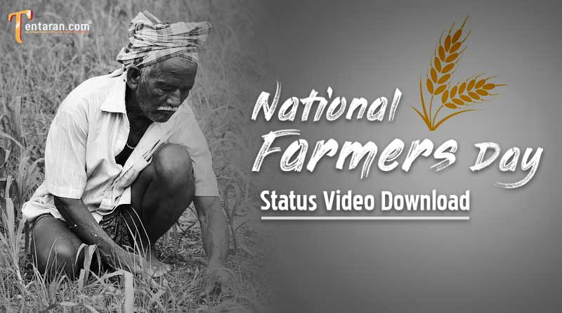 happy national farmers day status video download
