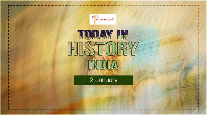 2 january in indian history