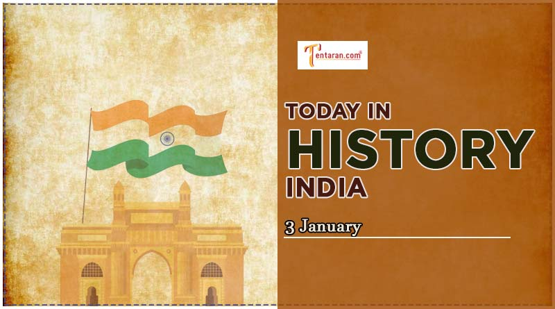 3 january in indian history