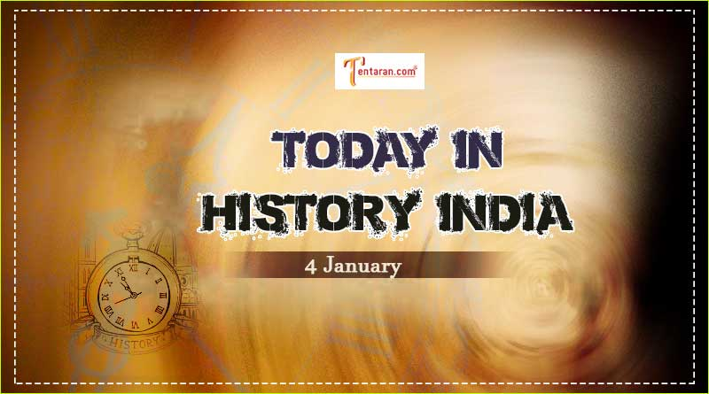 4 january in indian history