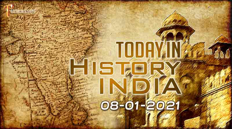 8 january in indian history