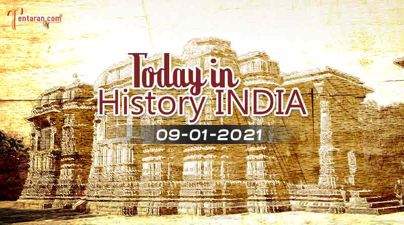 9 january in indian history