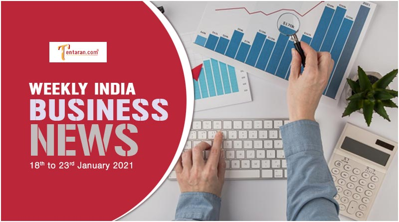 india business news weekly roundup 18 to 23 january 2021