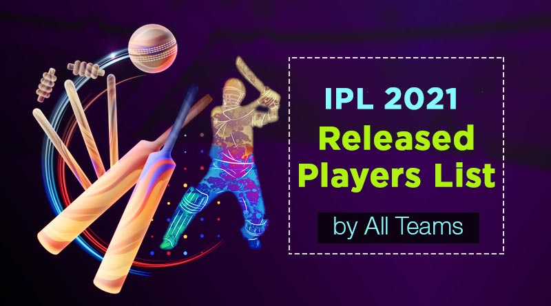 ipl 2021 released players list