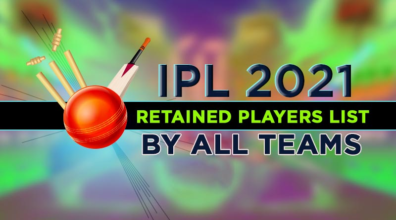 ipl 2021 retained players list