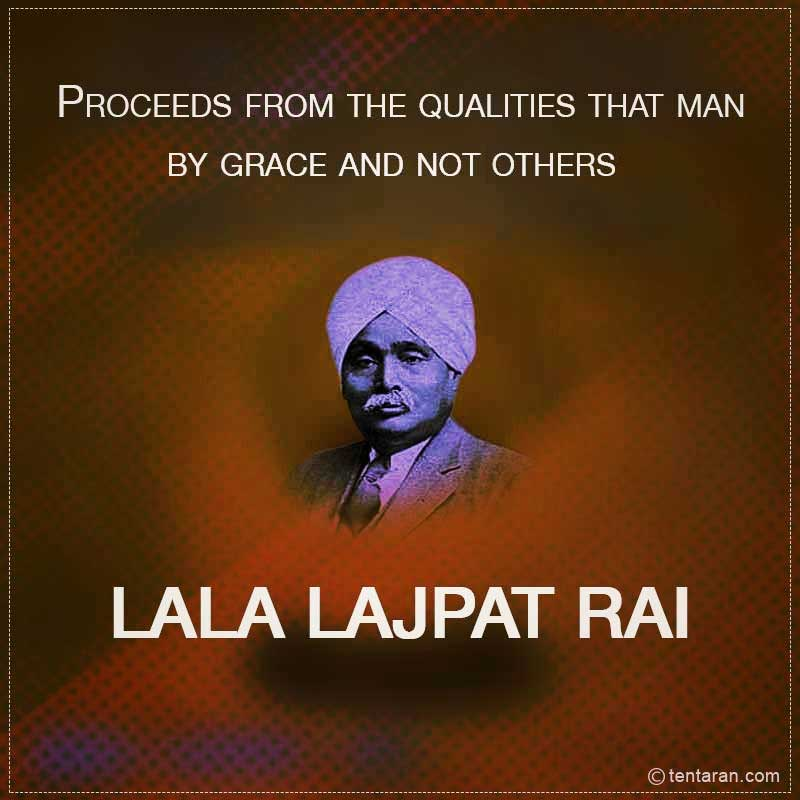lala lajpat rai jayanti messages wishes images poster