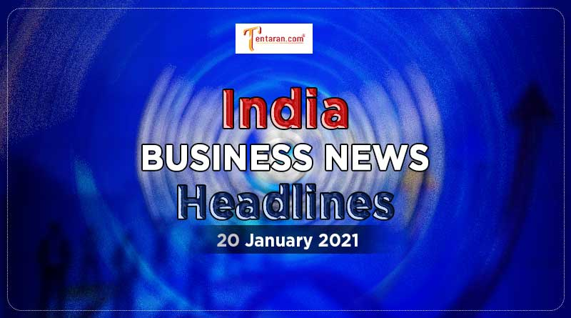 latest india business news today 20 january 2021