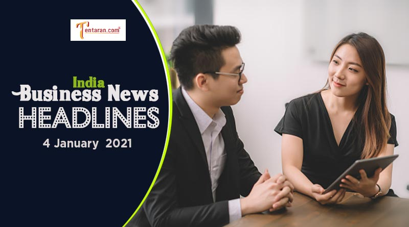 latest india business news today 4 january 2021